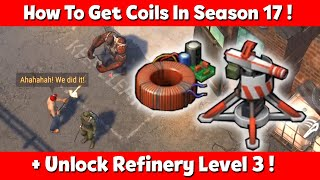 In this Video i will Show you the How to Get Coil & Unlock Refinery Level 3 in New Version 1.18.7 Season 17 Update in Last Day On Earth Survival game.