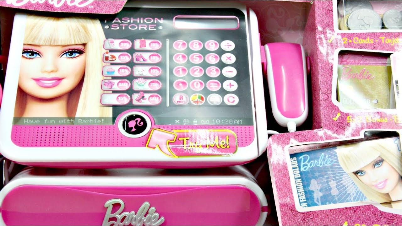 Barbie - Caja registradora Fashion (Lexibook RPB554) 74