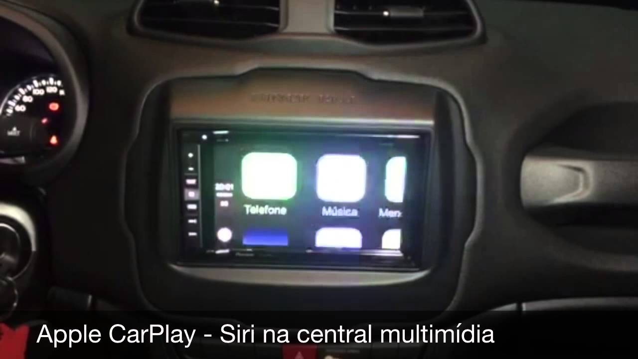 Central Multimídia Pioneer AVIC F970TV para Jeep Renegade ...