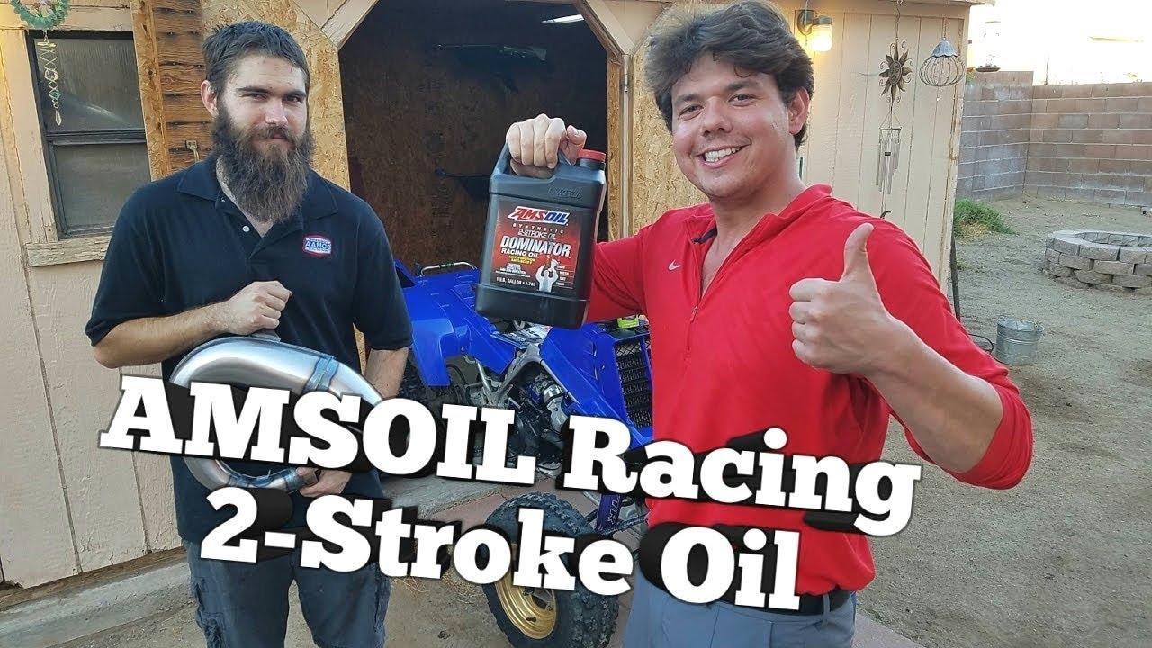 Amsoil Dominator 2 Stroke Racing Oil Yamaha Banshee Youtube