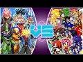 DRAGON BALL SUPER Vs SONIC THE HEDGEHOG (Goku Vs Sonic Movie) RUMBLE REWIND