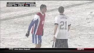 USMNT Costa Rica 2013 wcq hex first half