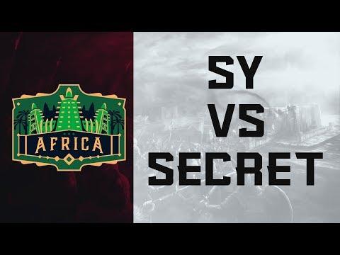 ECL Africa 2v2 - SY vs Secret [Round 1]