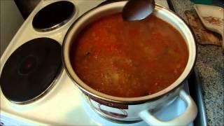 Каша из топора ... или как я варил суп из рыбных консервов.