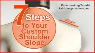 Plus Size Pattern Alteration: 7 Steps to Your Custom Shoulder Slope