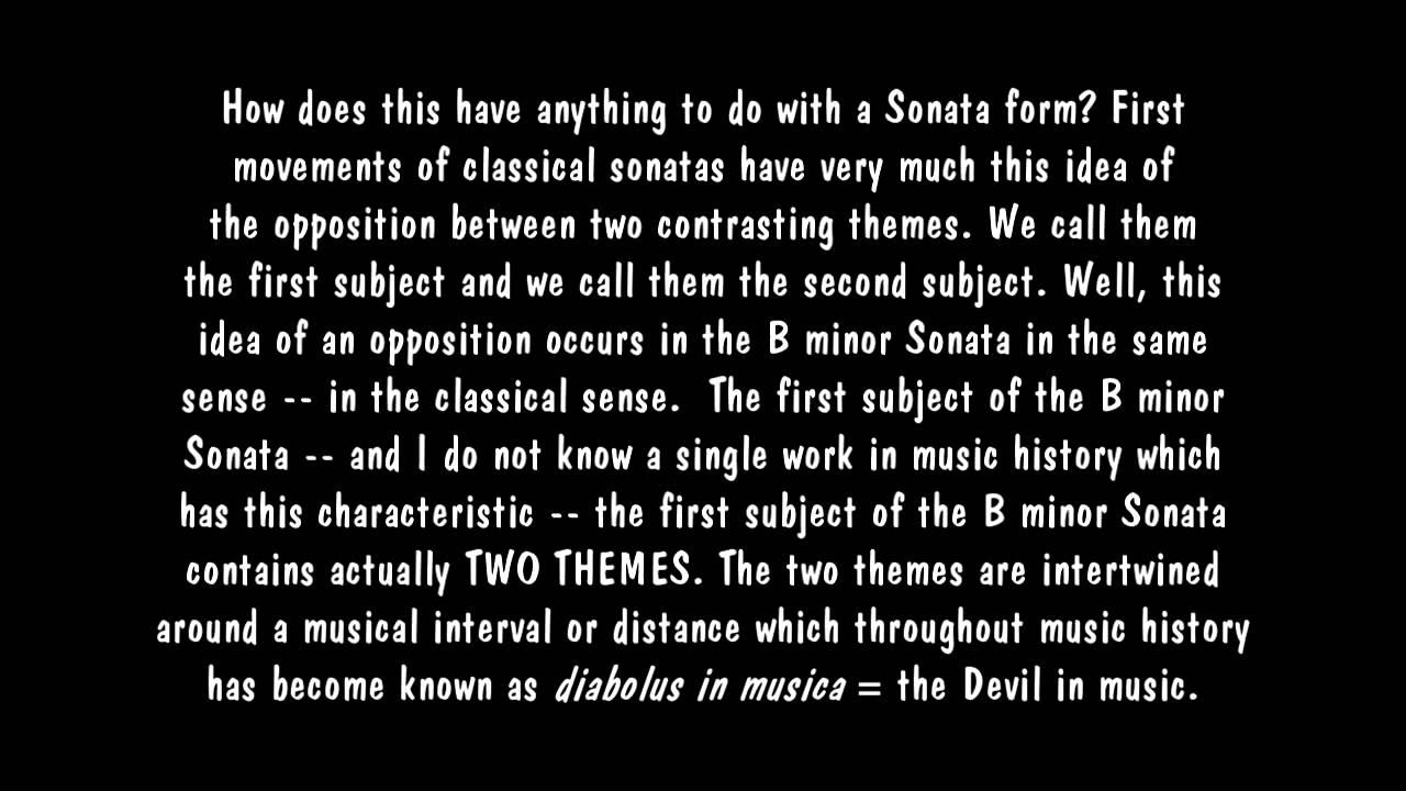 Liszt Sonata In B Minor Steiners Anthroposophy Lucifer Christ