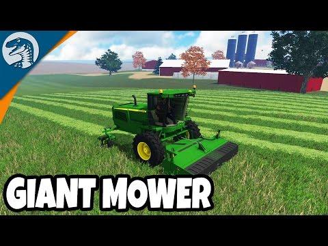 INSANE FULL SCALE MOWING OPERATION | Farming Simulator 17 Mulitplayer Gameplay