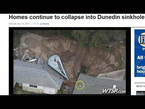 MAJOR NEWS--Massive Sinkhole Swallows Another House In Florida!