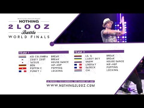 NOTHING2LOOZ WORLD FINALS 2017 - Team 1 VS Team 3
