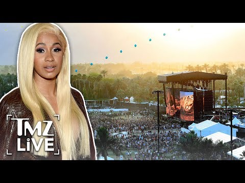 Cardi B's Baby Due This Summer, But She's Still Performing at Coachella | TMZ Live