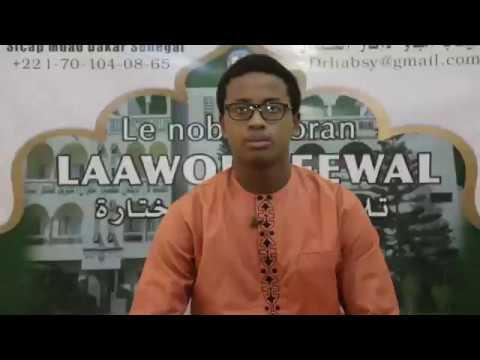 Retrouvez Mouhammad Moujtaba DIALLO dans Laawol Peewal - Ramadan 2019