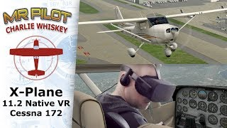 X-plane 11.2 Native VR test flight