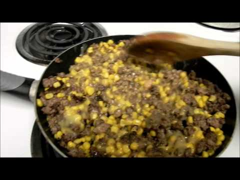 COWBOY CASSEROLE [Easy Family Meals]