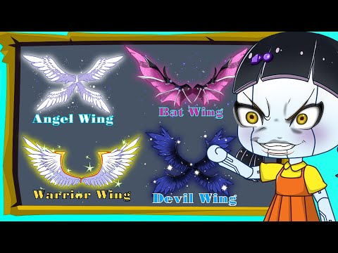 Squid Game Doll Show Ancient Wings | Gacha Club | Ppg x Rrb Gacha Life