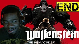 Wolfenstein The New Order Gameplay Walkthrough Part 30 - Ending - Wolfenstein Black Guy