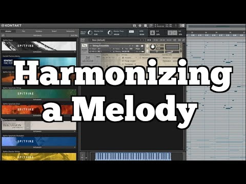 how to harmonize a melody youtube. Black Bedroom Furniture Sets. Home Design Ideas