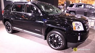 2016 GMC Terrain Nightfall Edition - Exterior And Interior Walkaround - 2016 New York Auto Show