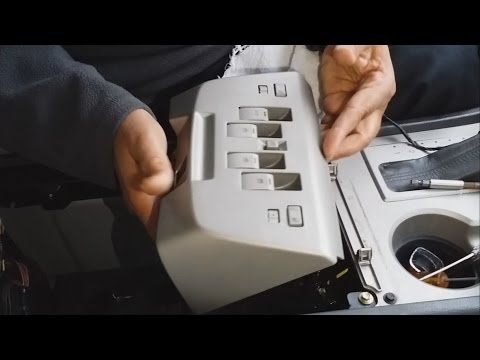 How To Open Center Console 2004 Lincoln Navigator In Easy Steps