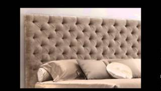 Luxury King Size Bed - Baroque Bed - Gold Leafing Finish - Devereaux
