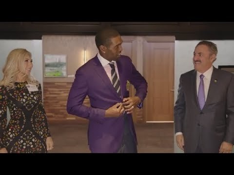 Randy Moss' Vikings Ring of Honor Purple Jacket Ceremony | ESPN