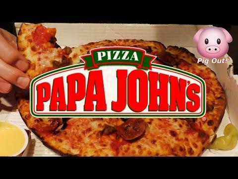 ASMR: Eating Papa John