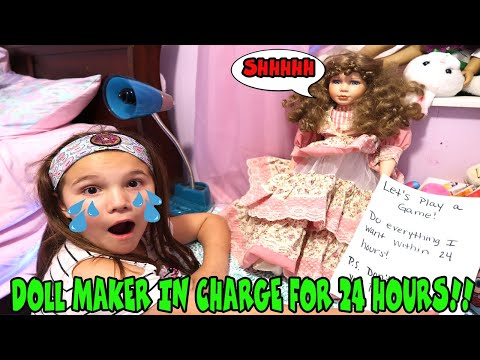 The Doll Maker In Charge For 24 Hours! I Broke The Rules And Opened My Mom's New Lol Dolls