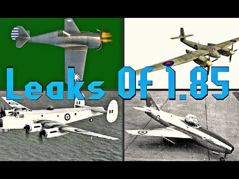 Leaked Vehicles Of 1.85 - War Thunder Leaks/ Info
