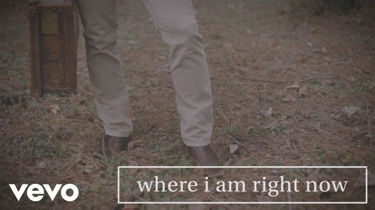 Jared Anderson Where I Am Right Now Lyric