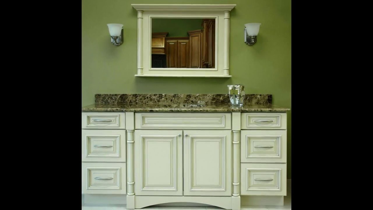 Bath Vanity Cabinets | Bath Vanity Cabinets Without Tops | Custom Bath  Vanity Cabinets   YouTube