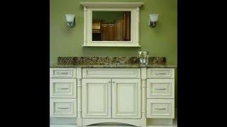 Bath Vanity Cabinets | Bath Vanity Cabinets Without Tops | Custom Bath Vanity Cabinets
