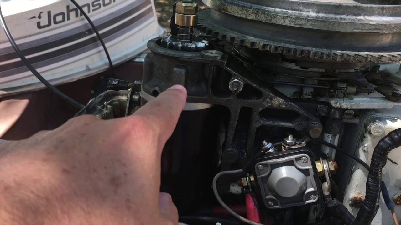 redneckologist bonus how to change a starter on a johnson mercury outboard [ 1280 x 720 Pixel ]