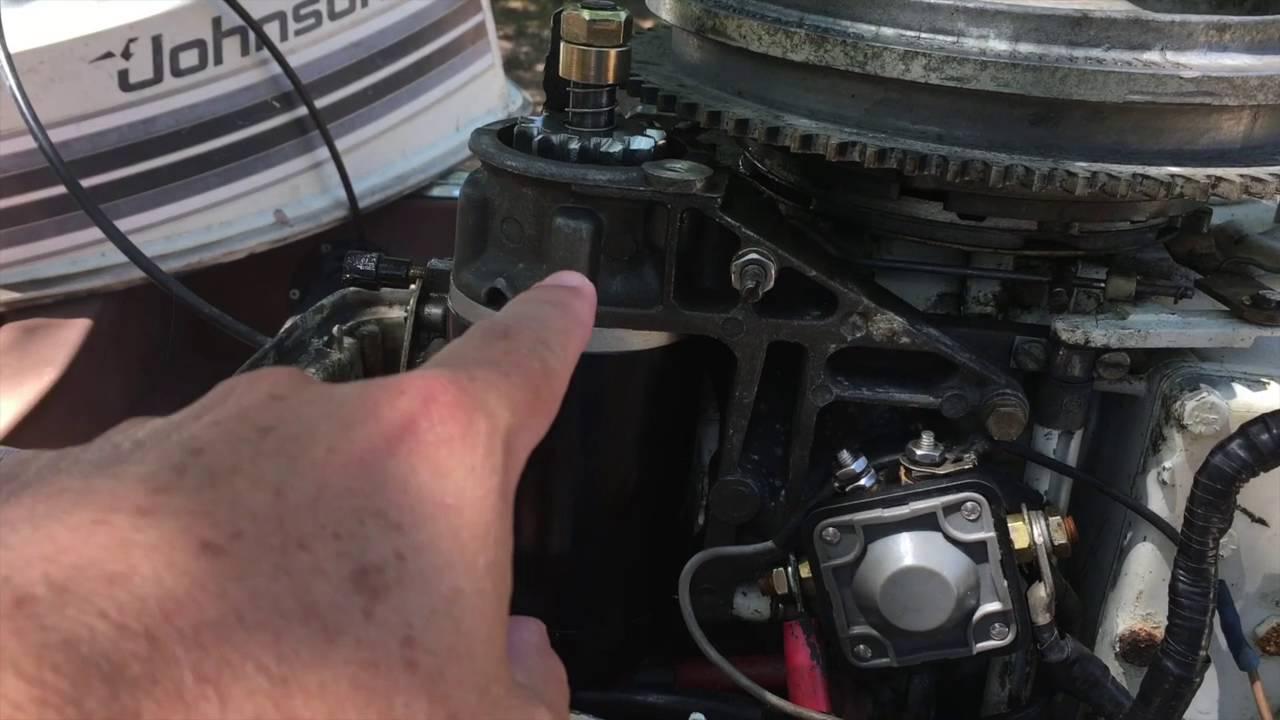 redneckologist bonus how to change a starter on a johnson mercury outboard [ 1280 x 720 Pixel ]