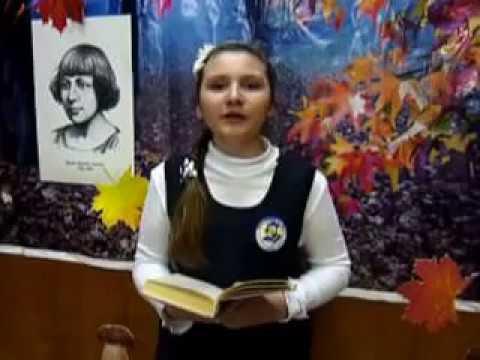 Изображение предпросмотра прочтения – МарияМансурова читает произведение «Вот опять окно» М.И.Цветаевой