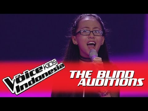 """Amest """"Give Me One Good Reason"""" I The Blind Auditions I The Voice Kids Indonesia GlobalTV 2016"""