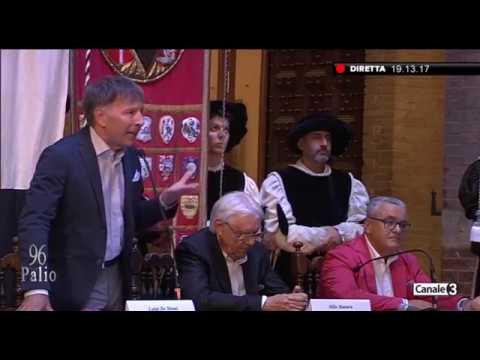 Presentazione Drappellone - Palio 16 agosto 2019
