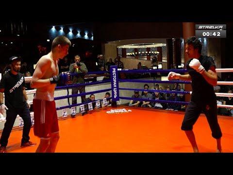 Вин Чунь мастер против Боксера