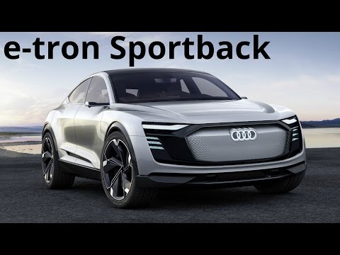 Audi e-tron Sportback Concept - Electric Audi SUV in Production from 2019