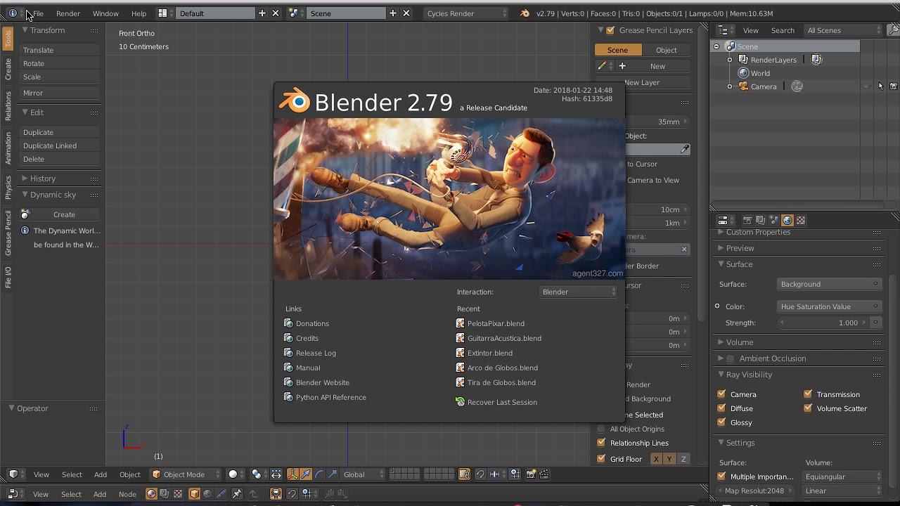 Instalar glTF Blender Exporter master