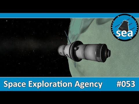 Space Exploration Agency - #053 - Supply Mk 5 Spacecraft returns to Minmus