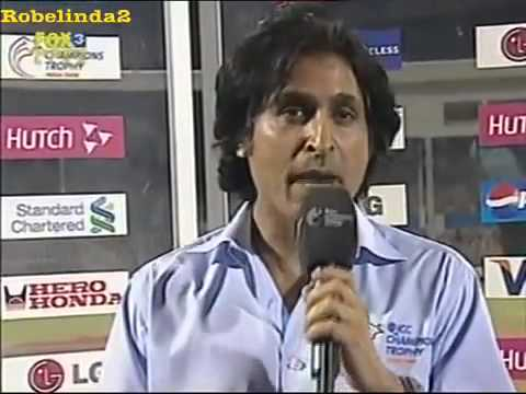 Ramiz Raja being stupid on TV- Be good, and be cool.