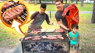 CHURRASCO NO PARQUE /Gaba\\