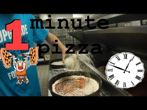 60 pizzas per hour INSIDE LITTLE CEASERS