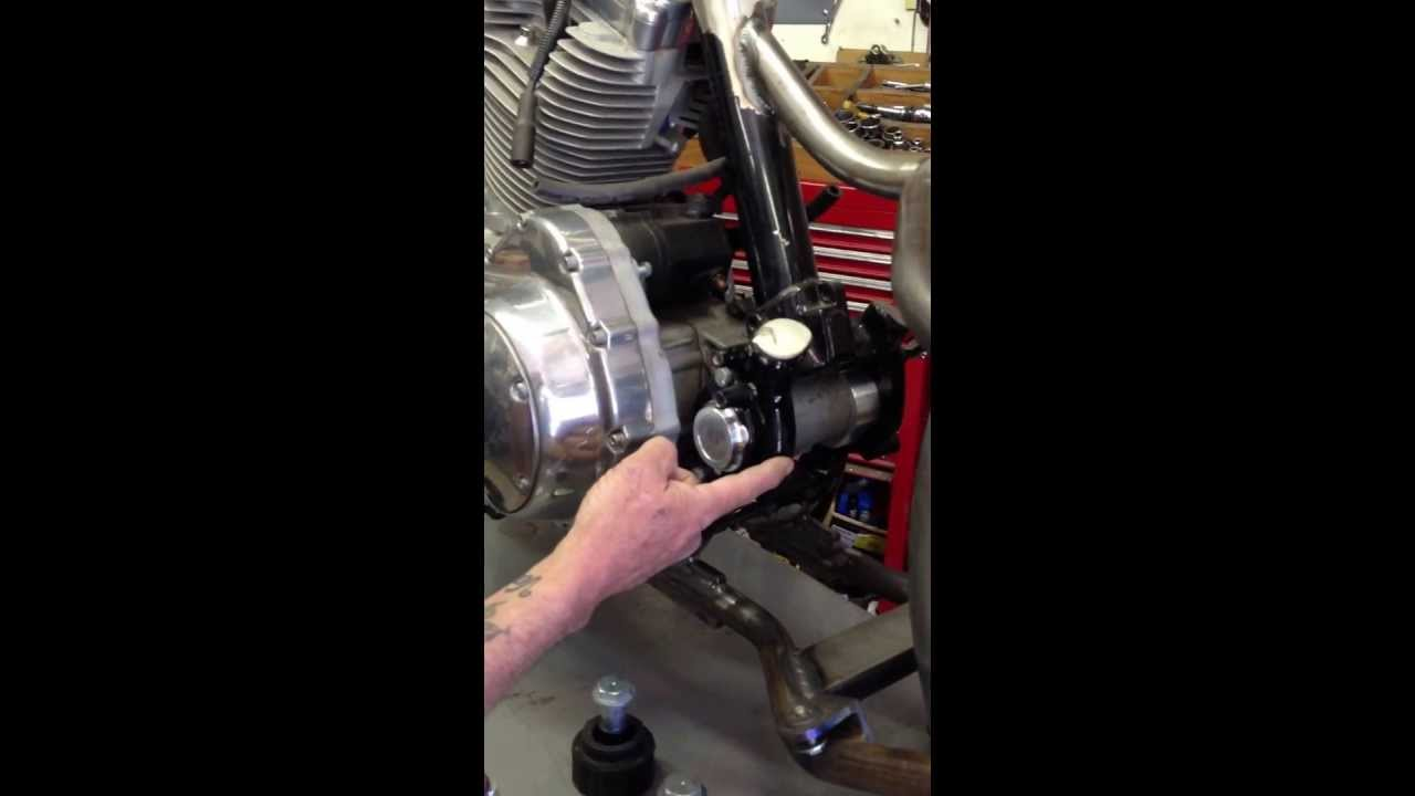 Sportster solid motor mounts 2004 and up youtube for Sportster solid motor mounts