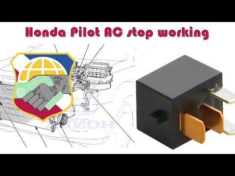 honda pilot ac stop working how to troubleshoot hvac compressor 68 Camaro Dash Wiring Diagram