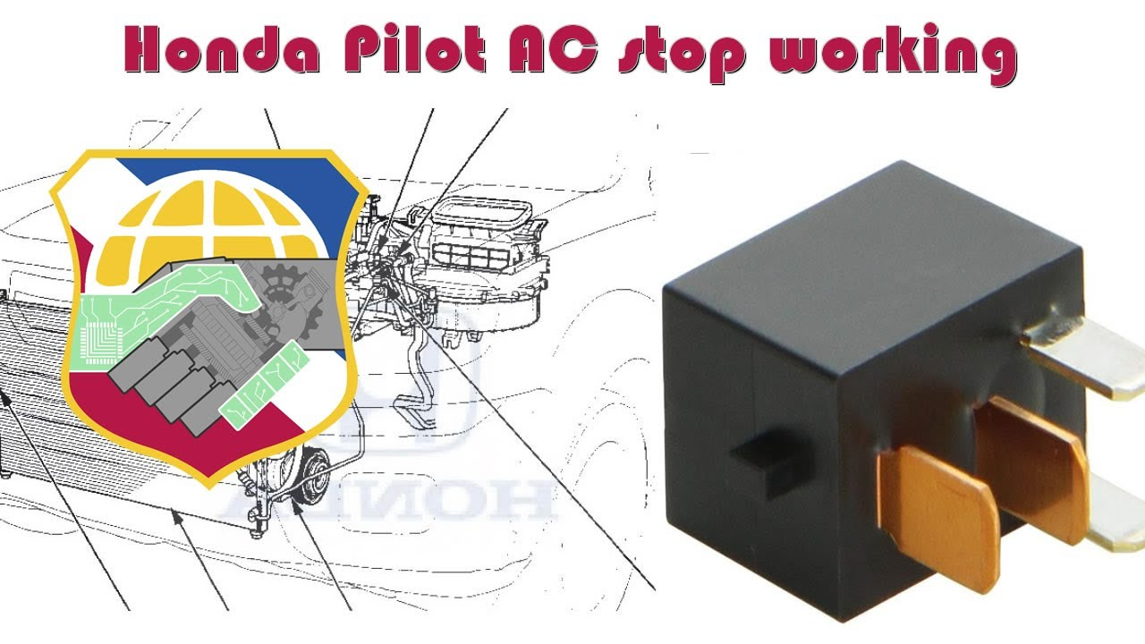 medium resolution of honda pilot ac stop working how to troubleshoot hvac compressor 2007 honda pilot ac wiring diagram