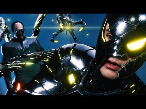 Dr. Octopus Final Boss + ENDING + All Secret Endings - Marvels Spider-man 2018 - ps4 Pro  HD