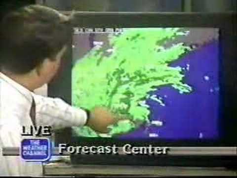Hurricane Bob in New England 1991