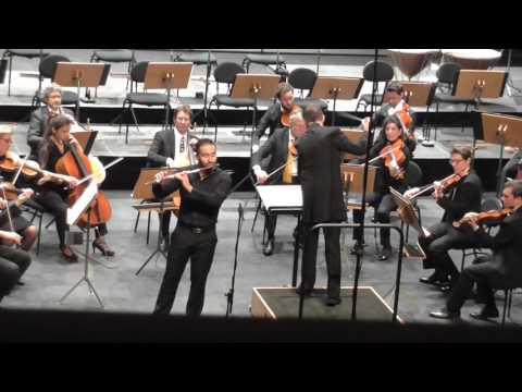 Ravel, Pavane pour une infante défunte - Jolivet, concerto pour flûte