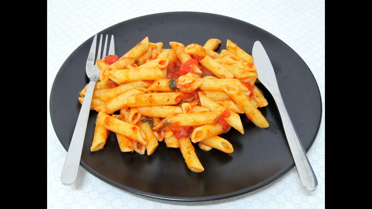 Recipe for arrabbiata pasta