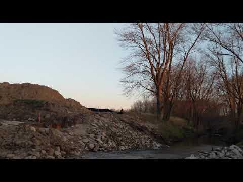 Buchta Road bridge out